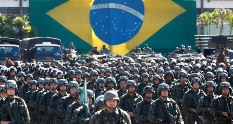 Brasil é principal potência militar na AL; Venezuela está em 6ª posição
