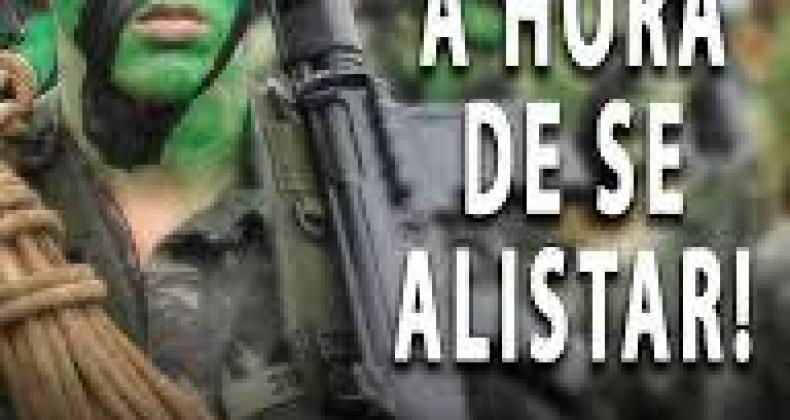 Alistamento Militar 2019, termina no dia 30 de Junho